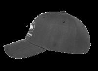 Grey base ball cap